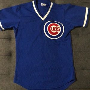 Chicago Cubs Throwback Blue Jersey